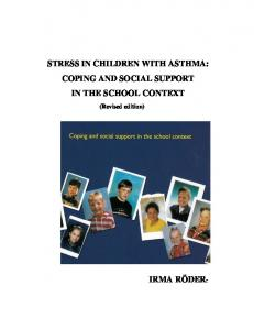 STRESS IN CHILDREN WITH ASTHMA: COPING ...