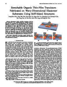 Stretchable Organic Thin-Film Transistors Fabricated on ... - IEEE Xplore