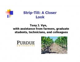 Strip-Till: A Closer Look - Semantic Scholar