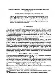 STRONG CENTRAL LIMIT THEOREM FOR