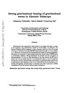 Strong gravitational lensing of gravitational waves in Einstein Telescope