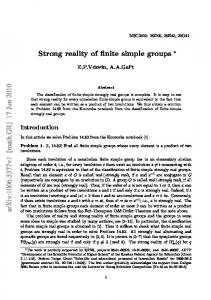 Strong reality of finite simple groups