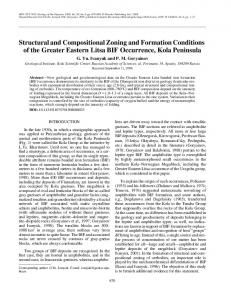 Structural and Compositional Zoning and Formation ... - Springer Link