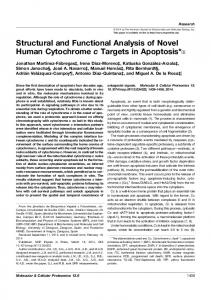 Structural and Functional Analysis of Novel Human