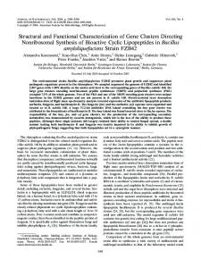 Structural and Functional Characterization of Gene ... - CiteSeerX