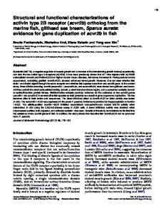 Structural and functional characterizations of ... - Semantic Scholar