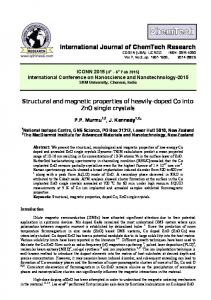 Structural and magnetic properties of heavily-doped Co into ZnO ...