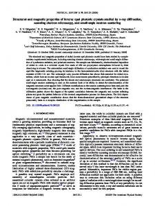 Structural and magnetic properties of inverse opal photonic crystals ...