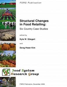 Structural Changes in Food Retailing - AgEcon Search
