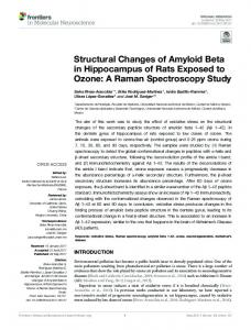 Structural Changes of Amyloid Beta in