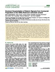 Structural Characterization of Melanin Pigments from Commercial ...
