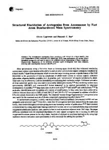 Structural Elucidation of Acetogenins from ... - Science Direct