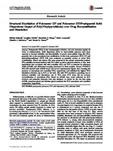 Structural Elucidation of Poloxamer 237 and