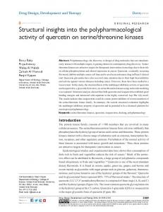 structural insights into the polypharmacological ... - Semantic Scholar