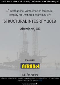 structural integrity 2018 - ASRANet