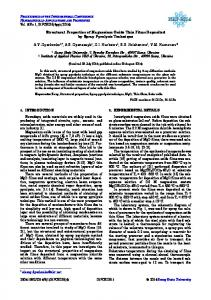 Structural Properties of Magnesium Oxide Thin Films