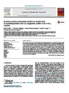 Structure-activity relationships studies on weakly ...