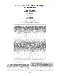Structure and Evolution of Kuiper Belt Objects and Dwarf Planets