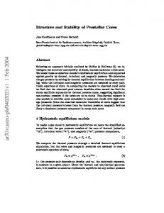 Structure and Stability of Prestellar Cores