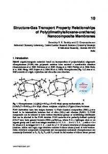 Structure-Gas Transport Property Relationships of Poly ...