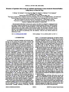 Structure of quantum dots as seen by excitonic spectroscopy versus