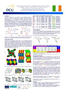 Structure property relationships in halogenated ... - DORAS - DCU