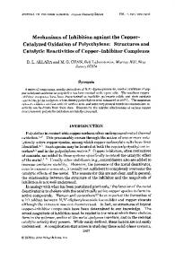 Structures and catalytic reactivities of copper - Wiley Online Library