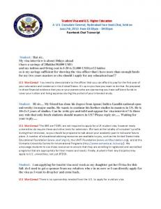 Student Visa and U S  Higher Education A U S  Consulate General