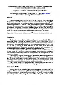 Studies concerning the influence of inorganic pollutants on the ... - isinn