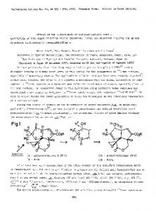Studies on the biosynthesis of pentalenolactone. Part I. Application of