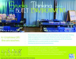 Studio Thinking Flyer3 - Every Art, Every Child