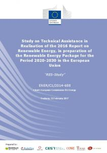 Study - European Commission - Europa EU