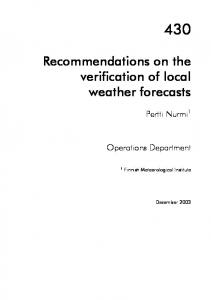 Study of diurnal cycle of convective precipitation over ... - CiteSeerX