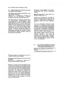 Study of Intramolecular Electron Transfer and ...
