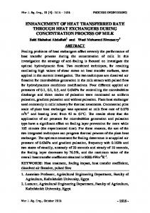 study of temperature and airflow rate effect on artificial ...