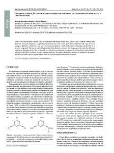 Study of the controlled release of ametryn herbicide using PVA ...