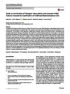 Study on Contribution of Biological Interpretable and