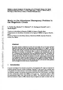 Study on the Abundance Discrepancy Problem in the Magellanic Clouds