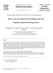 Study on the Development of the Medium-Scale Gas ... - Science Direct
