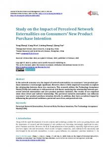 Study on the Impact of Perceived Network