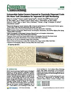 Submersible Optical Sensors Exposed to ... - ACS Publications