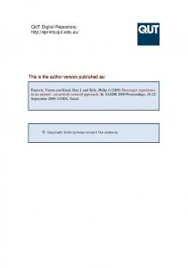 Submitted Version (PDF 170kB) - QUT ePrints