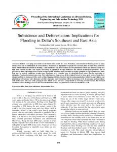 SUBSIDENCE AND DEFORESTATION_revised isc2011