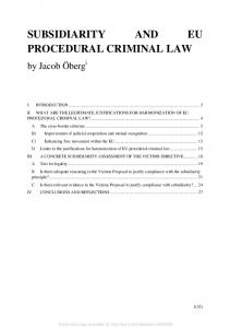 eu and comparative law issues and challenges series - MAFIADOC COM