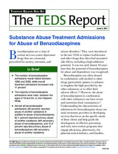 Substance Abuse Treatment Admissions for Abuse of ...