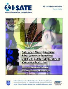 Substance Abuse Treatment Outcomes - CiteSeerX