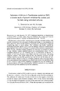 Substrate inhibition in - Springer Link