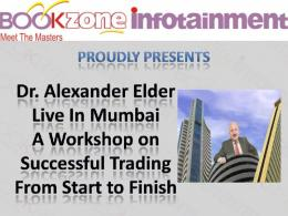 Successful Trading From Start to Finish with Dr. Alexander Elder