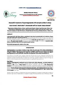 Successful treatment of hypermagnesemia with atropine sulfate in sheep