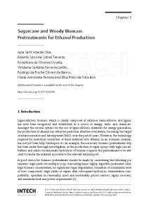 Sugarcane and Woody Biomass Pretreatments for ...